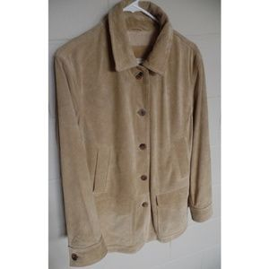 L.L. Bean Jackets & Coats - NWT L.L. BEAN Washable Leather Suede Coat Jacket